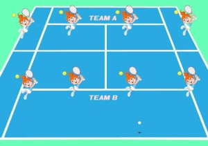 Little Kids Tennis Drill