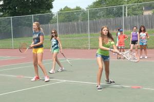 Kids Tennis Drill