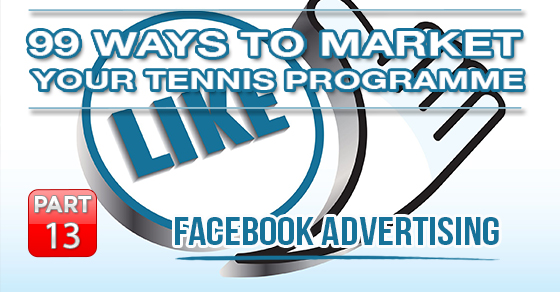 tennis facebook marketing